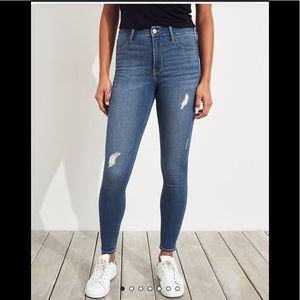 Adorable high rise jeggings only worn twice!